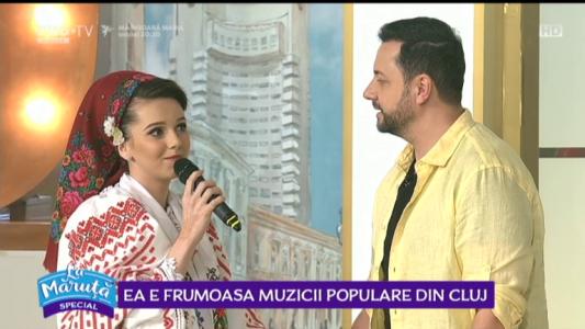Ea e frumoasa muzicii populare din Cluj