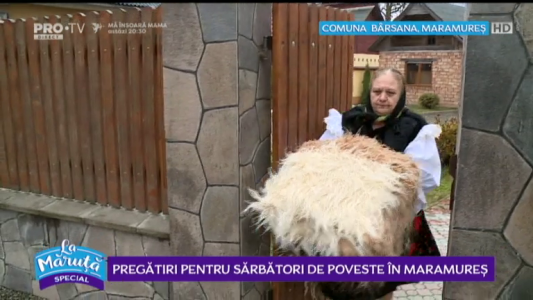 Pregatiri pentru sarbatori de poveste in Maramures