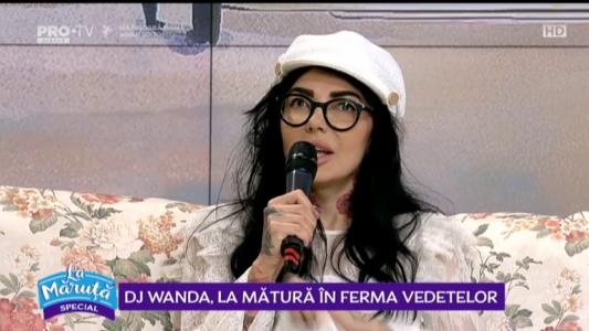 Dj Wanda, la matura in Ferma Vedetelor