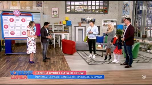 Daniela Gyorfi, gata de show!
