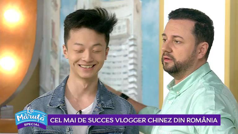 Cel mai de succes vlogger chinez, in Romania