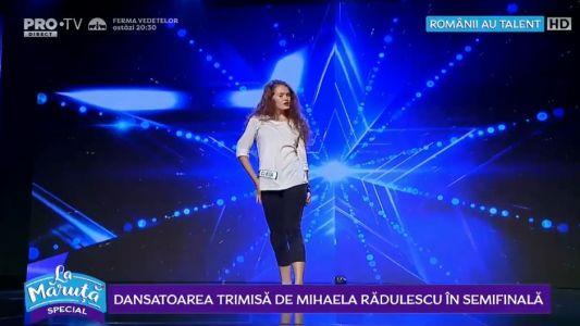 Dansatoarea trimisa de Mihaela Radulescu in semifinala