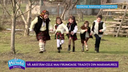 Va aratam cele mai frumoase traditii din Maramures