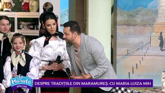 Despre traditiile din Maramures, cu Maria Luiza Mih