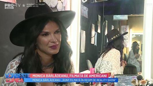 Monica Barladeanu, filmata de americani