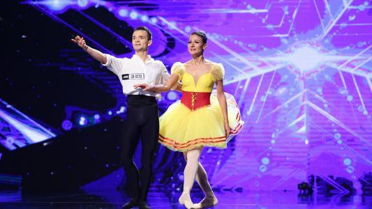 Romanii au talent 2018: Cristina Tipirig si Constantin Tcaci - Balet
