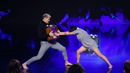 Romanii au talent 2018: Nicolai Curnic si Sonia Orta Rosa - Dans contemporan