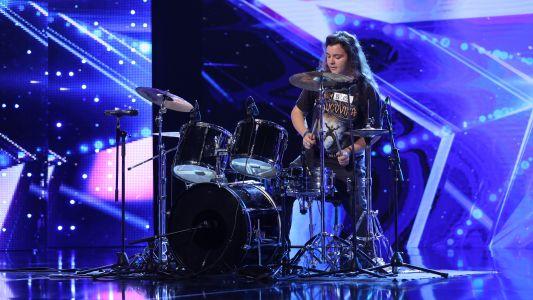 Romanii au talent 2018: George Pintilii - Improvizatie tobe