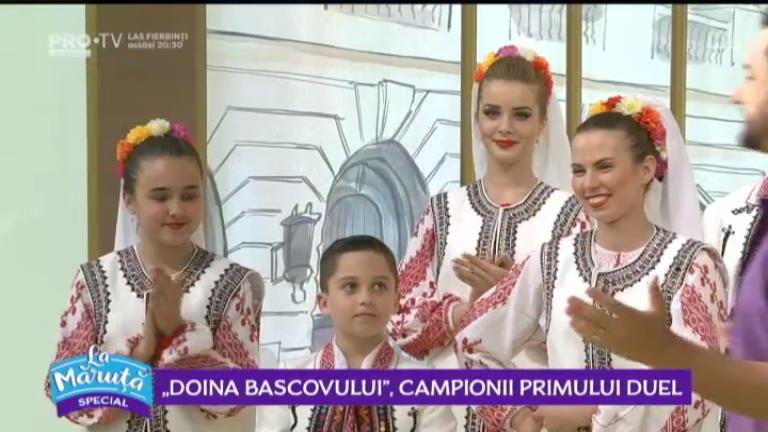 """""""Doina Bascovului"""", campionii primului duel"""