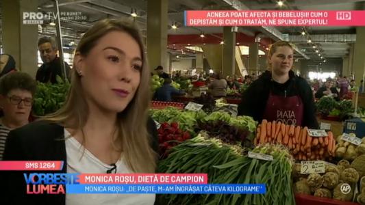 Monica Rosu, dieta de campion