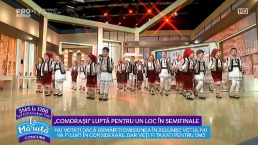 """""""Comorasii"""", lupta pentru un loc in semifinale"""