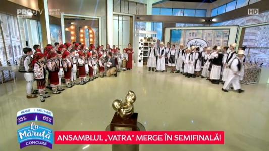 "Ansamblul ""Vatra"" merge in Semifinala!"