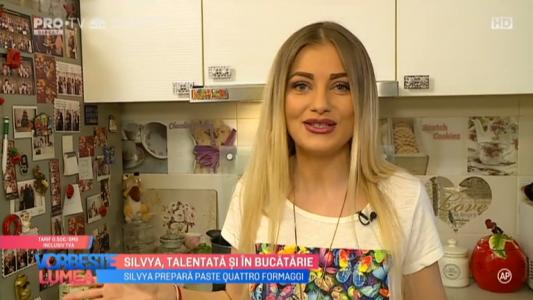 Silvya, talentata si in bucatarie