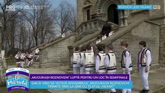 """""""Mugurasii Roznoveni"""" lupta pentru un loc in semifinale"""