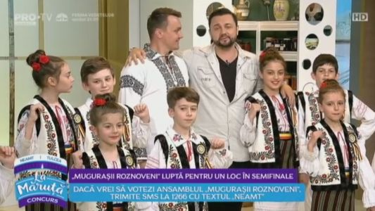 """""""Mugurasii Roznoveni"""", lupta pentru un loc in semifinale"""