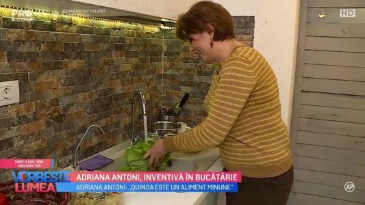 Adriana Antoni, inventiva in bucatarie