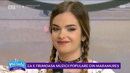 Ea este frumoasa muzicii populare din Maramures