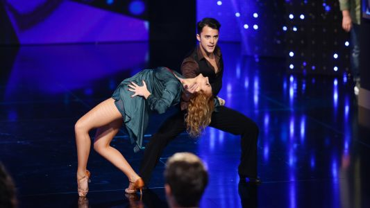 Romanii au talent 2018: Mihai Paraschiv si Anne Bezusenzo - dans sportiv