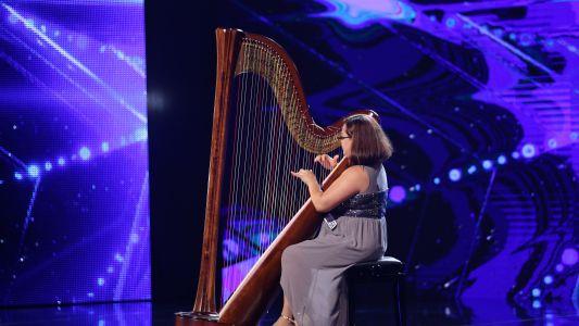 Romanii au talent 2018: Tatiana Podoleac - canta la harpa