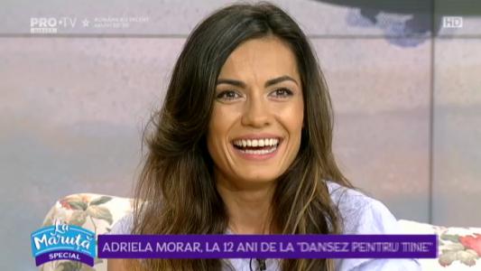 "Adriela Morar, la 12 ani de la ""Dansez pentru tine"""