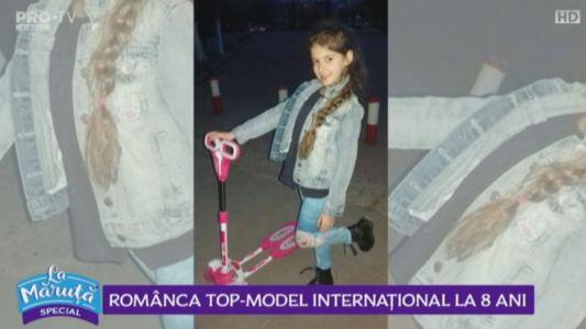 Romanca top-model, la 8 ani