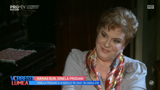 Ramas bun, Ionela Prodan