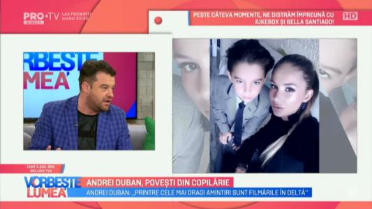 Andrei Duban, povesti din copilarie