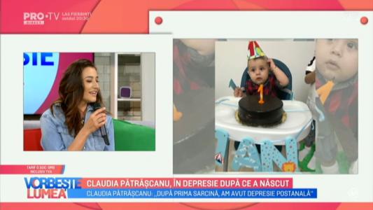 Claudia Patrascanu, in depresie dupa ce a nascut