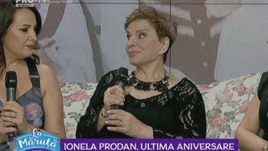 Ionela Prodan, ultima aniversare