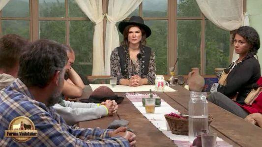 Monica Barladeanu le-a facut inca o vizita fermierilor. Alegerea celui de-al doilea duelist a iscat discutii aprinse