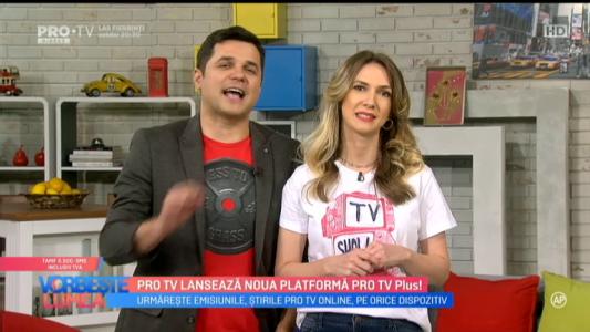 PRO TV lanseaza noua platforma PRO TV Plus!