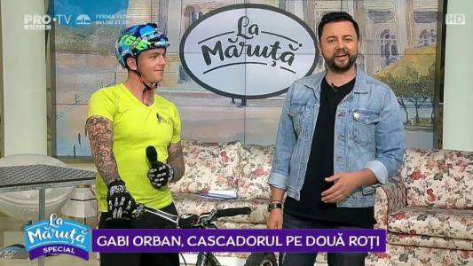 Gabi Orban, cascadorul pe doua roti