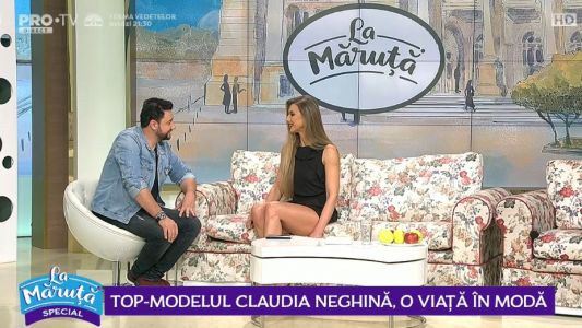 Claudia Neghina, o viata in moda