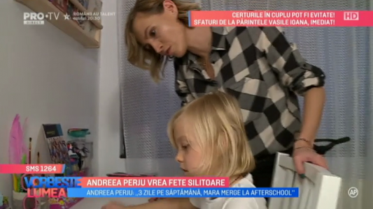 Andreea Perju vrea fete silitoare