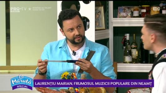 Laurentiu Marian, frumosul muzicii populare din Neamt