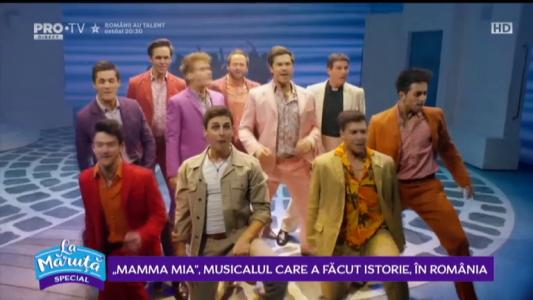 """In culisele spectacolului muzical """"Mamma Mia"""""""