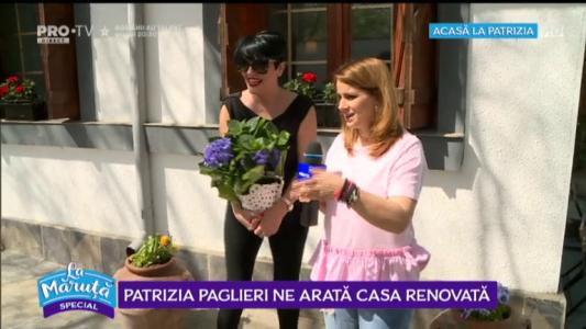 Patrizia Paglieri ne arata casa renovata