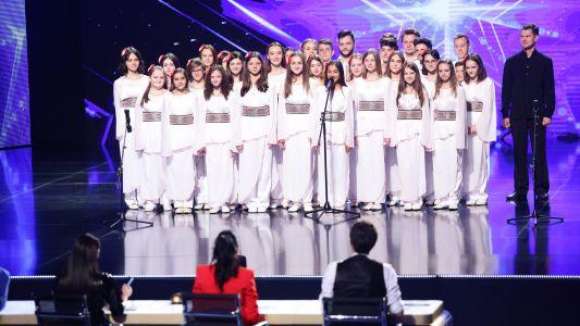 Romanii au talent 2018: Corul Cantemus - Moment artistic