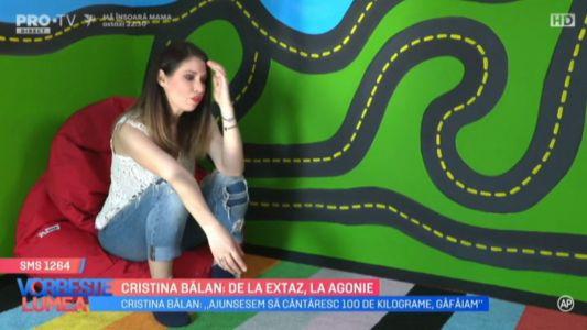 Cristina Balan, de la extaz, la agonie