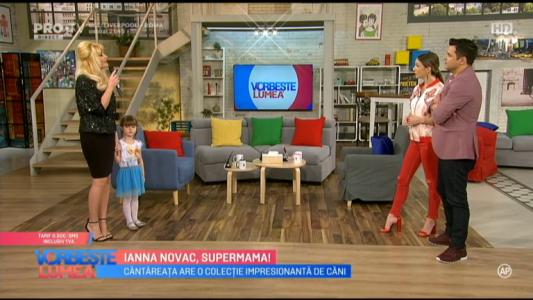 Ianna Novac, supermama!