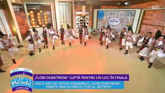 """Flori Dumitrene"" lupta pentru un loc in finala"