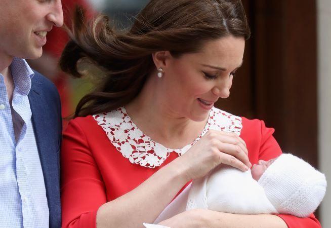 Care este numele celui de-al treilea bebelus regal