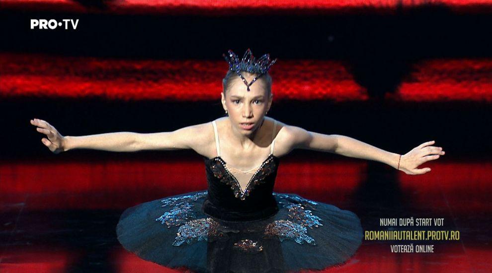 Bianca Badea, finalista celei de-a 4 semifinale Romanii au talent