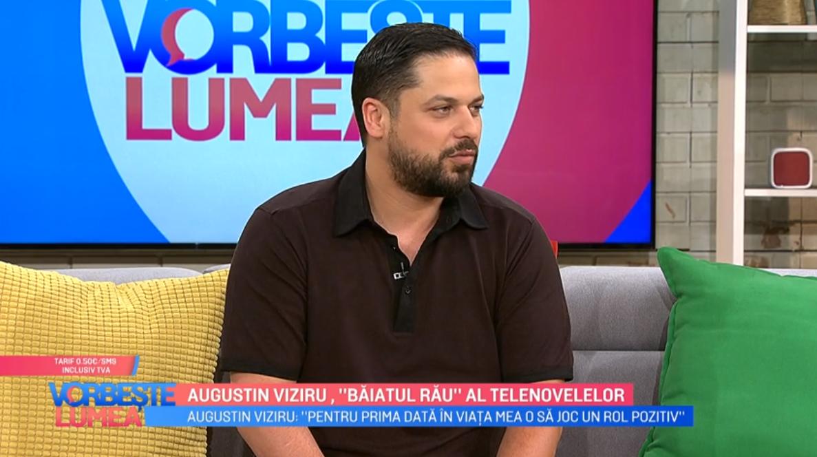 """Augustin Viziru, """"Băiatul rău"""" al telenovelelor"""