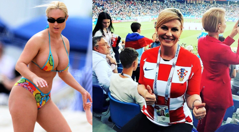 Imaginile cu președinta Croației în bikini sunt niște făcături. Cu cine a fost confundată Kolinda Kitarović