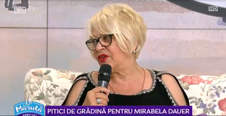 Mirabela Dauer a suferit o operație. Cum se simte artista în acest moment