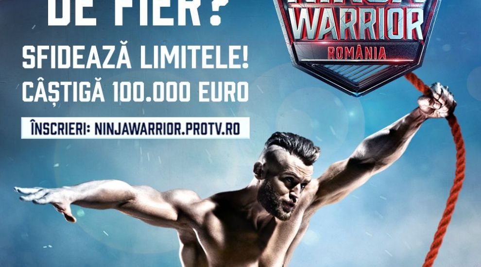 Vezi LIVE spectacolul Ninja Warrior România! Testează-ți limitele la Băneasa Shopping City și câștigă invitații
