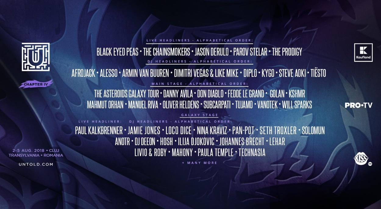 """""""Mergem doar la Untold!"""" Motivul pentru care cei de la Black Eyed Peas au ales să vină în România"""