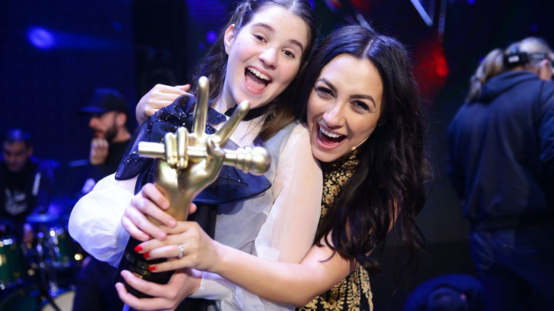 Maya Ciosa este câștigătoarea celui de-al doilea sezon Vocea României Junior