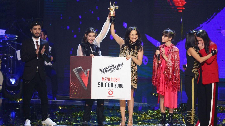 Maya Ciosa este câștigătoarea trofeului Vocea României Junior!